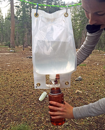 Smart Bottle with hanging attachment